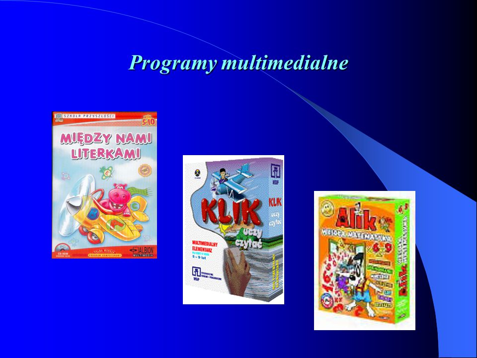Programy multimedialne