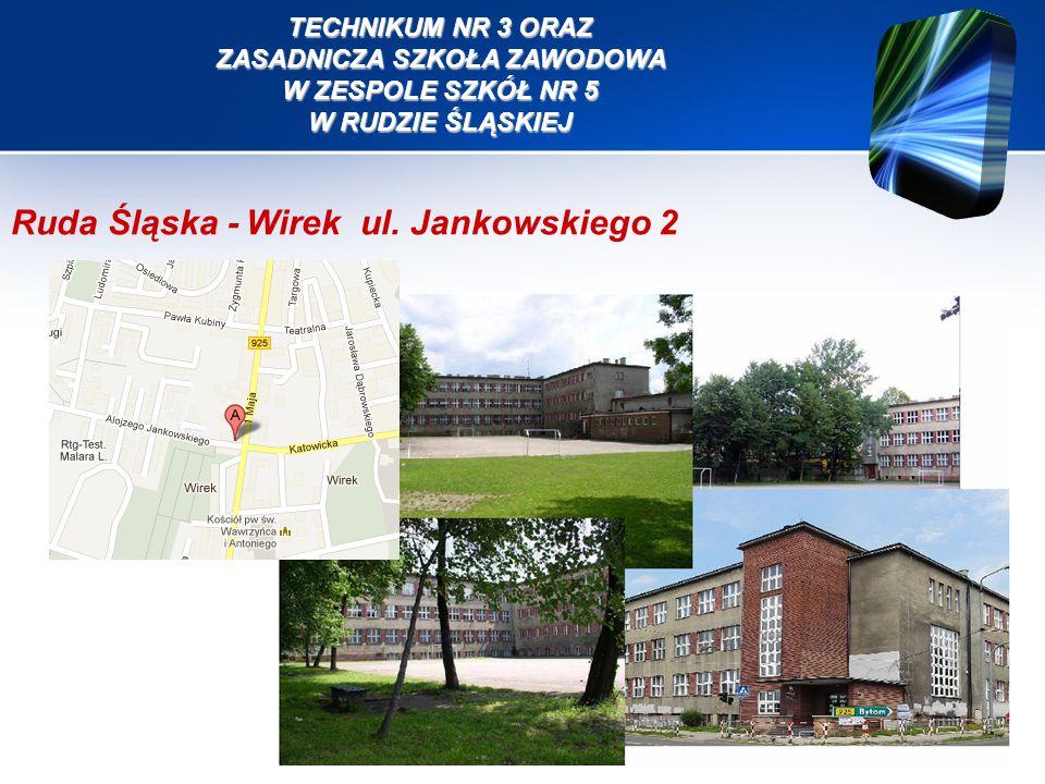 Ruda Śląska - Wirek ul. Jankowskiego 2