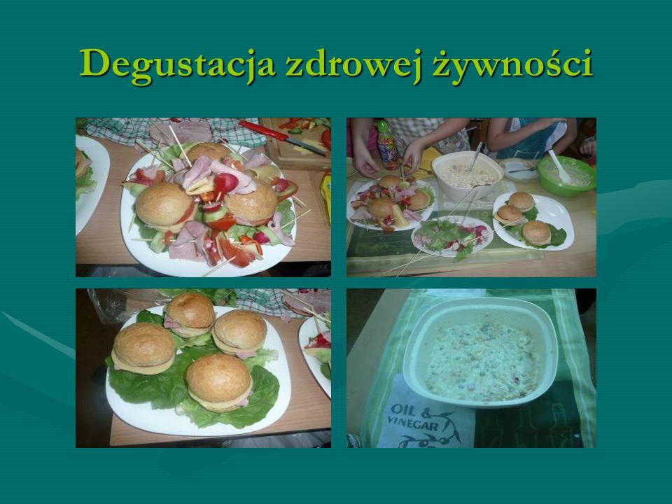 Degustacja zdrowej żywności