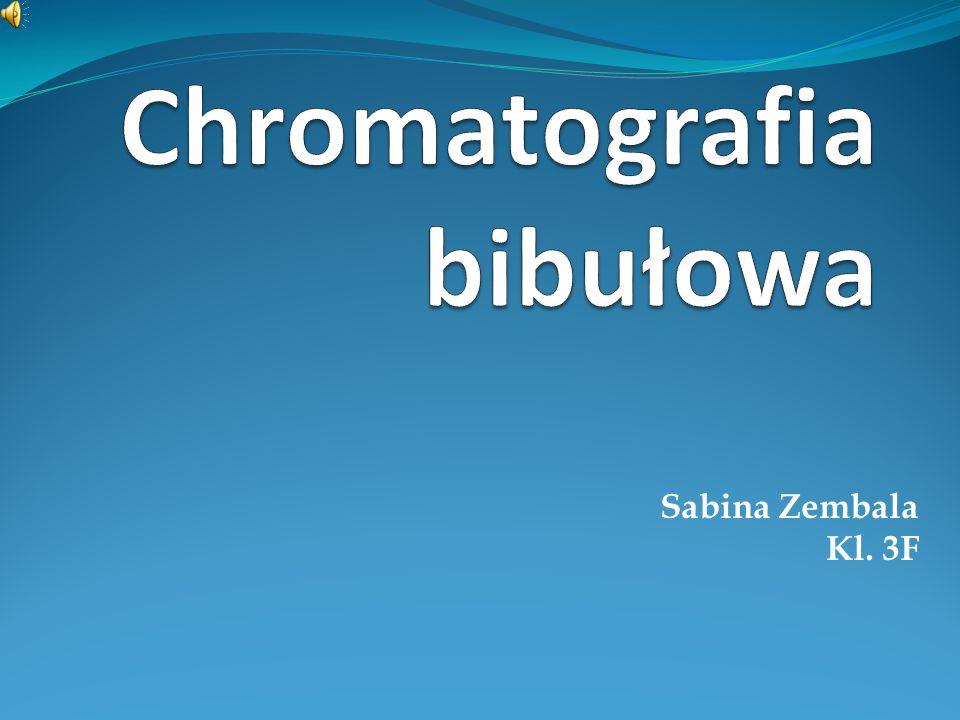 Chromatografia bibułowa