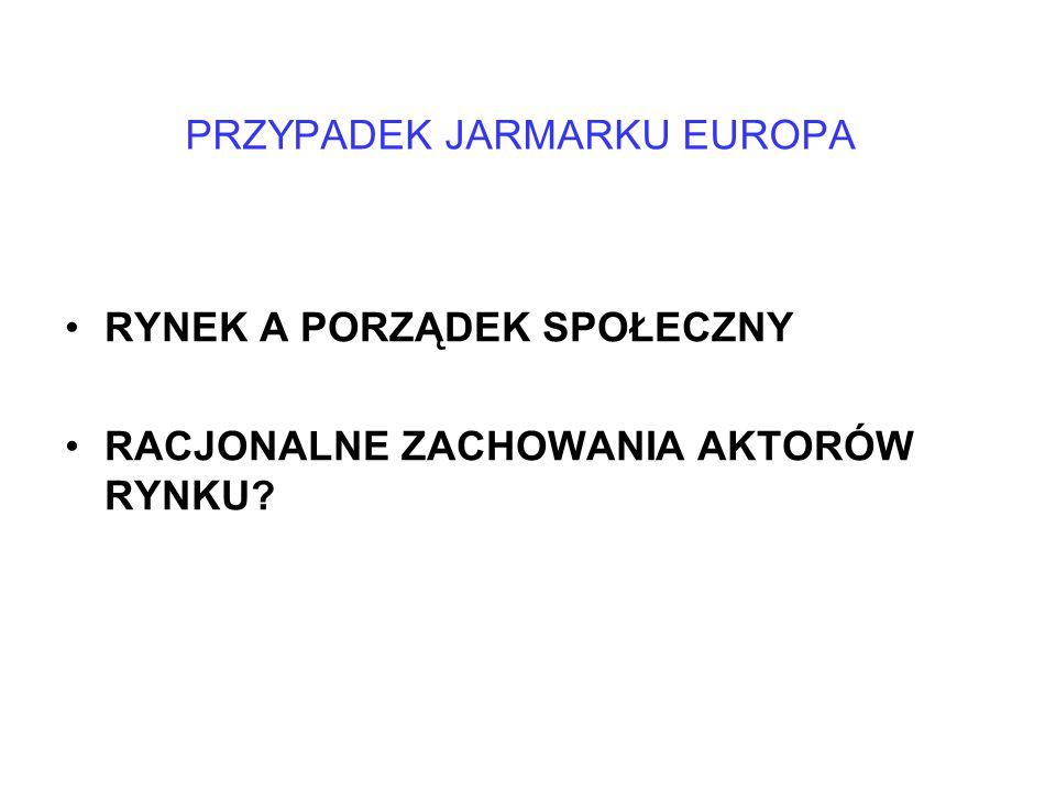 PRZYPADEK JARMARKU EUROPA
