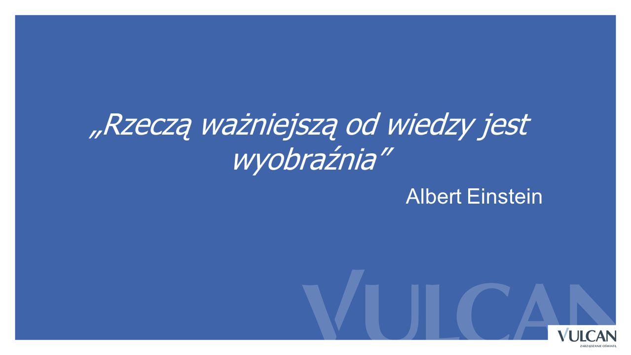 """""""Rzeczą ważniejszą od wiedzy jest wyobraźnia Albert Einstein"""