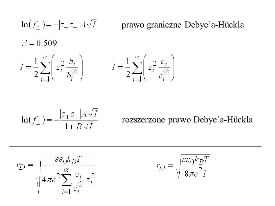 prawo graniczne Debye'a-Hückla