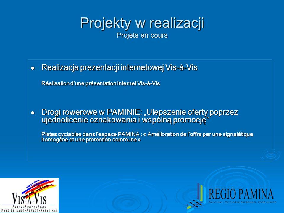 Projekty w realizacji Projets en cours
