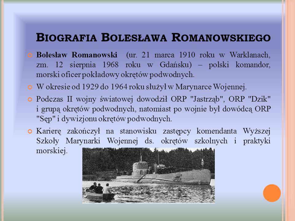 Biografia Bolesława Romanowskiego