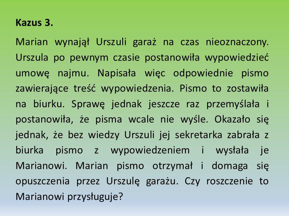 Kazus 3.
