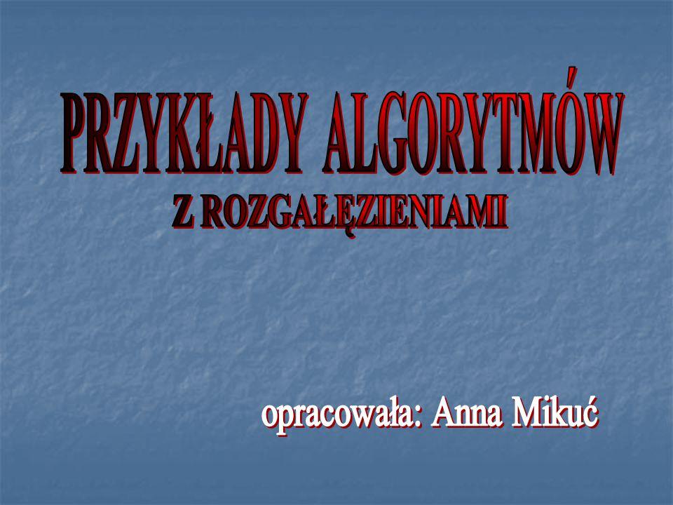 opracowała: Anna Mikuć