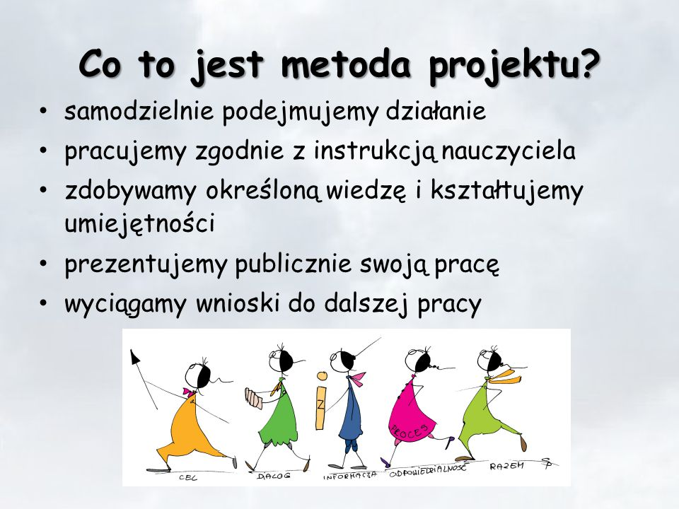Co to jest metoda projektu