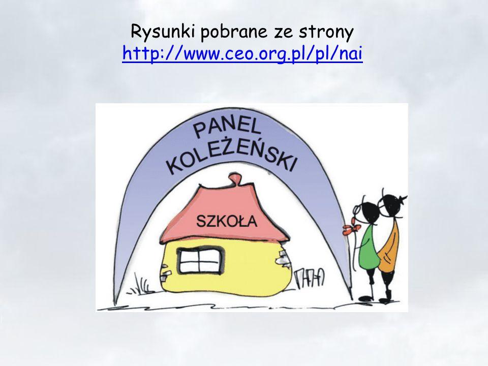 Rysunki pobrane ze strony http://www.ceo.org.pl/pl/nai