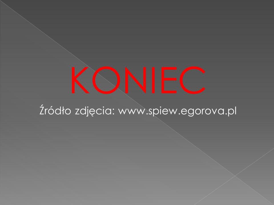 Źródło zdjęcia: www.spiew.egorova.pl