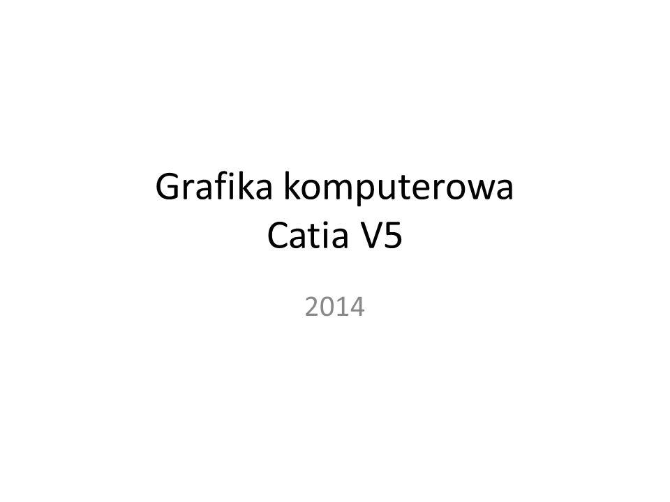 Grafika komputerowa Catia V5