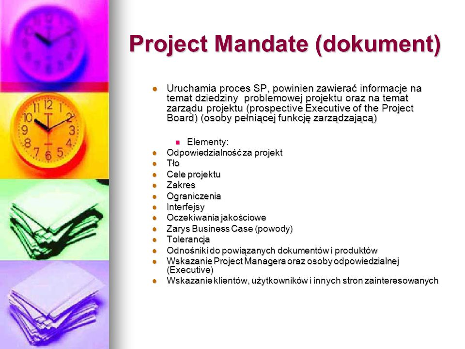 Project Mandate (dokument)