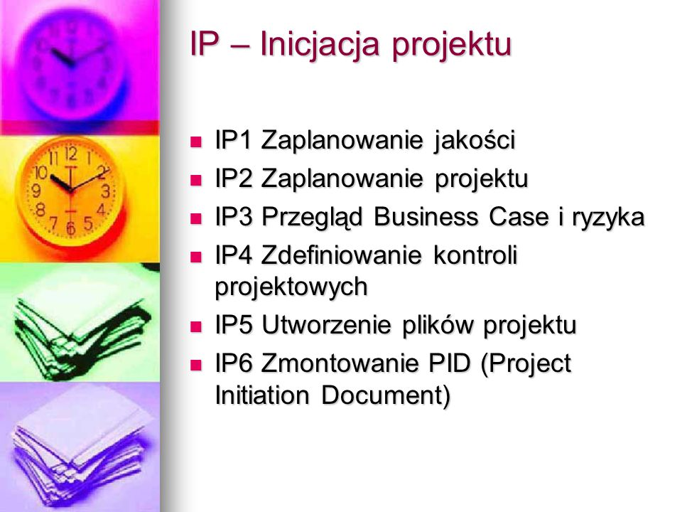 IP – Inicjacja projektu