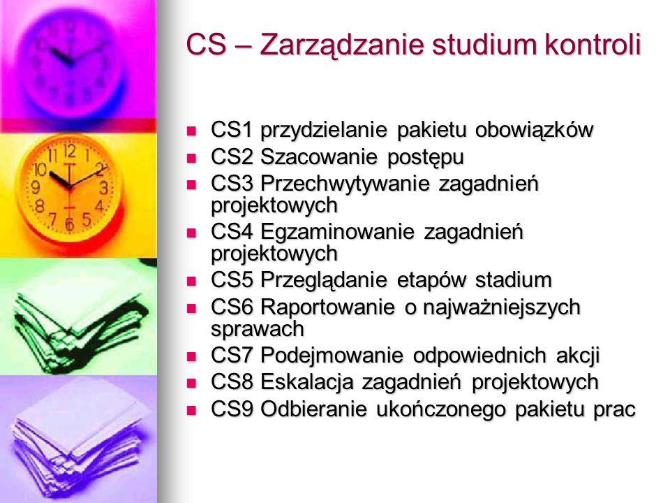 CS – Zarządzanie studium kontroli