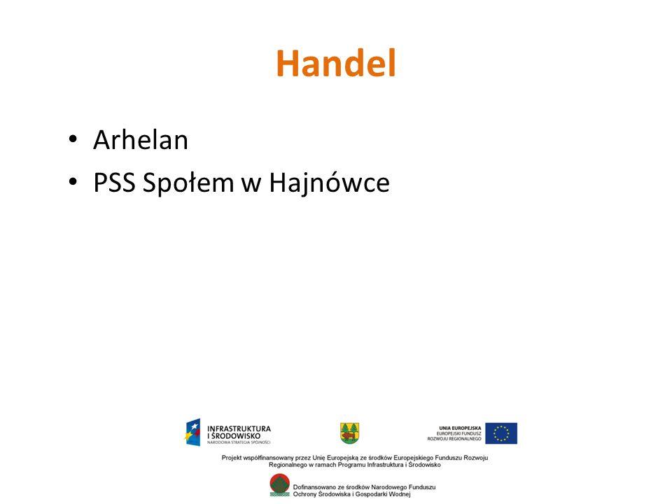 Handel Arhelan PSS Społem w Hajnówce