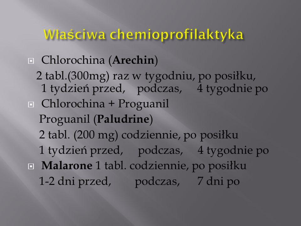 Właściwa chemioprofilaktyka