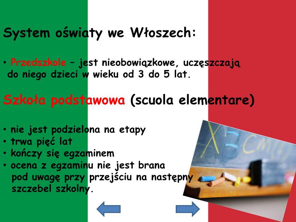 System oświaty we Włoszech: