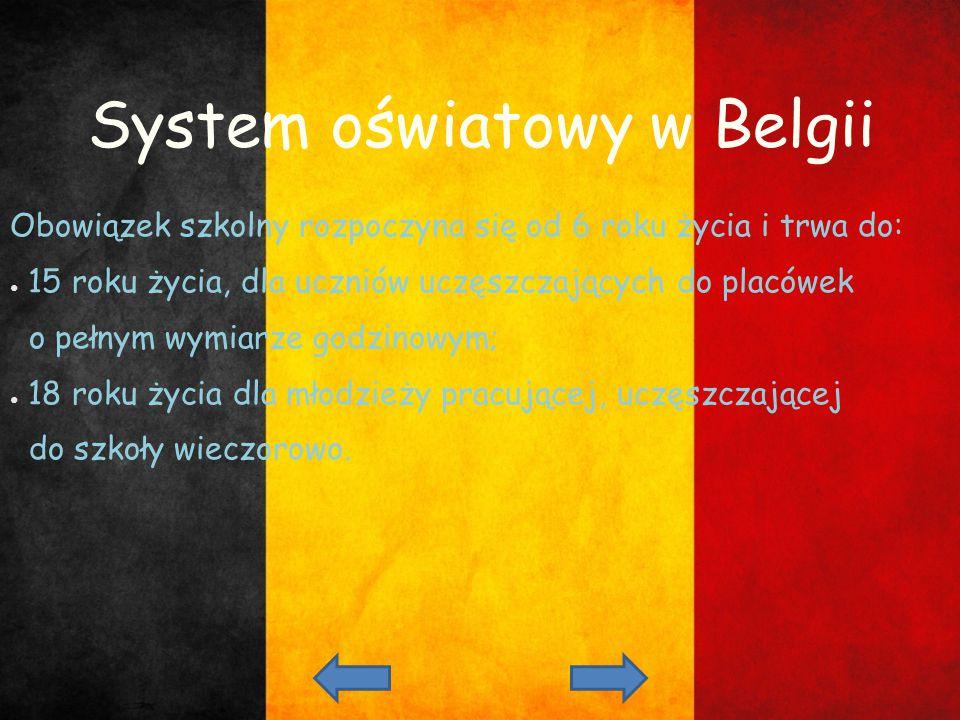 System oświatowy w Belgii