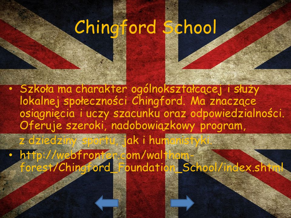Chingford School