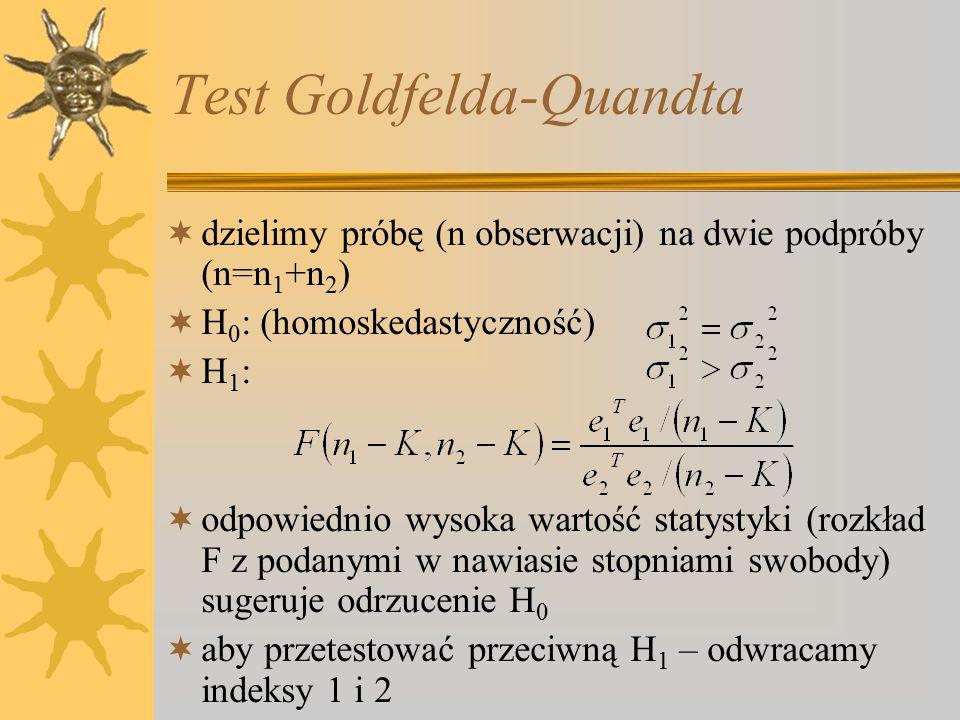 Test Goldfelda-Quandta