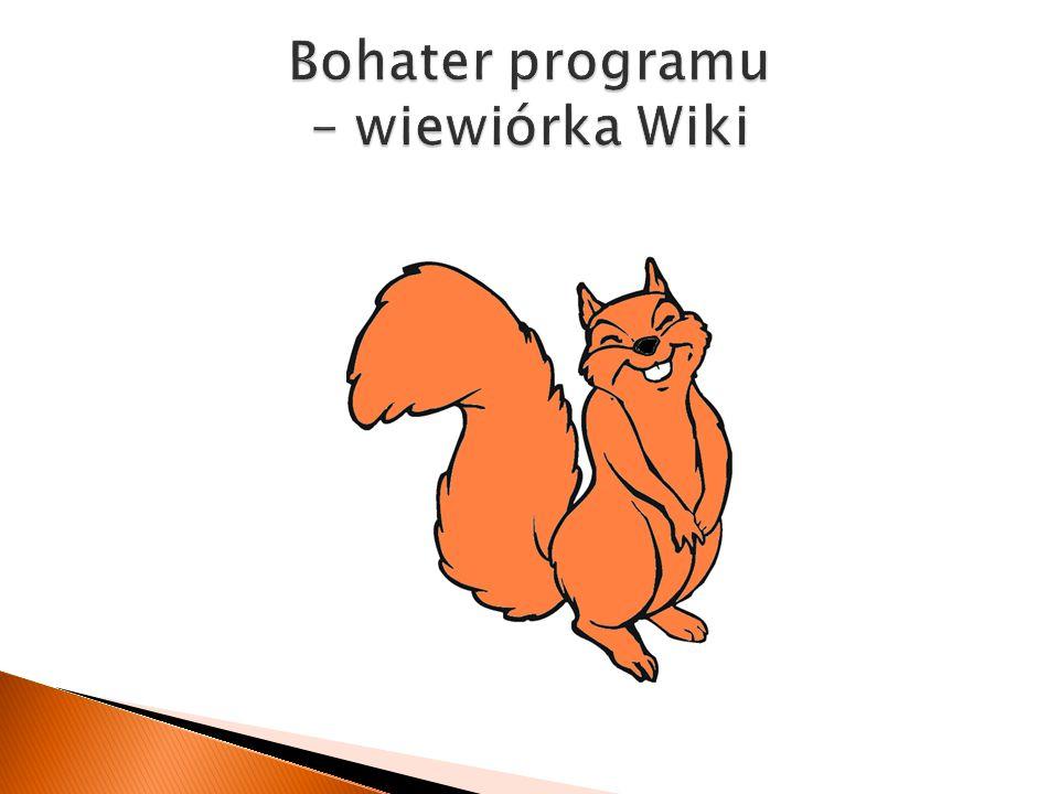 Bohater programu – wiewiórka Wiki