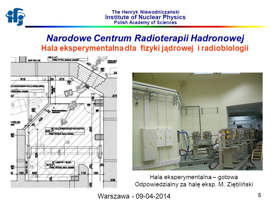 Narodowe Centrum Radioterapii Hadronowej