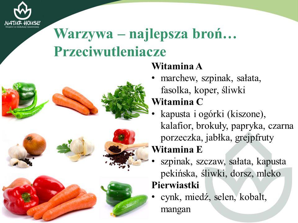 Warzywa – najlepsza broń… Przeciwutleniacze