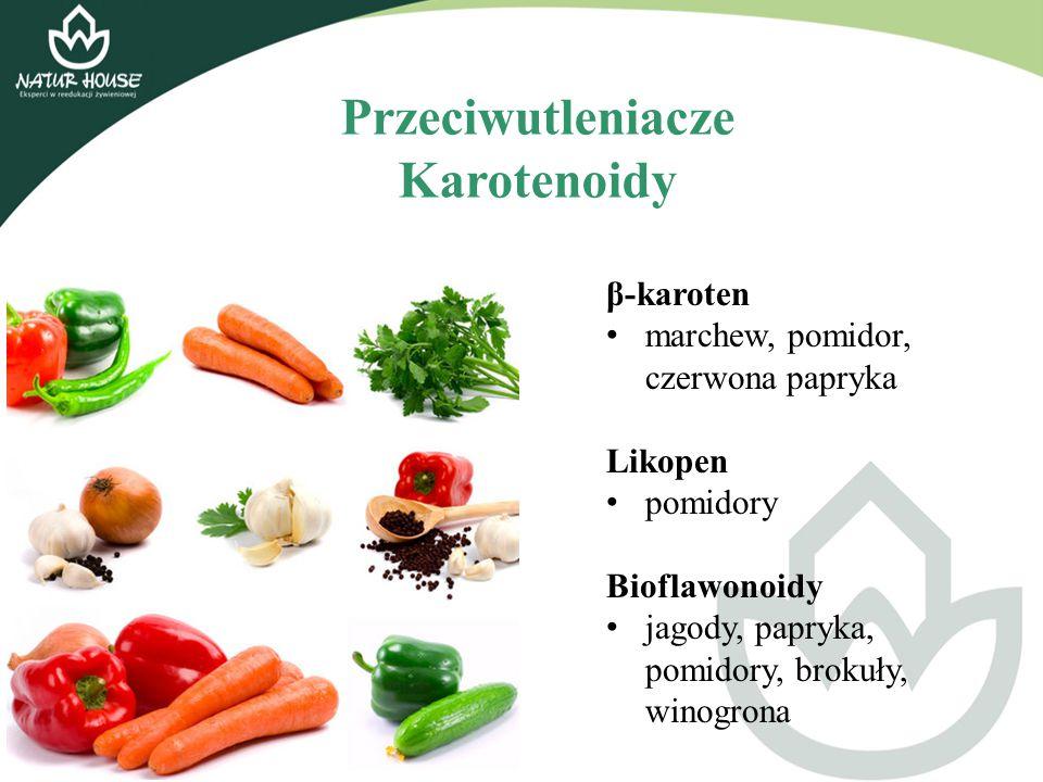 Przeciwutleniacze Karotenoidy