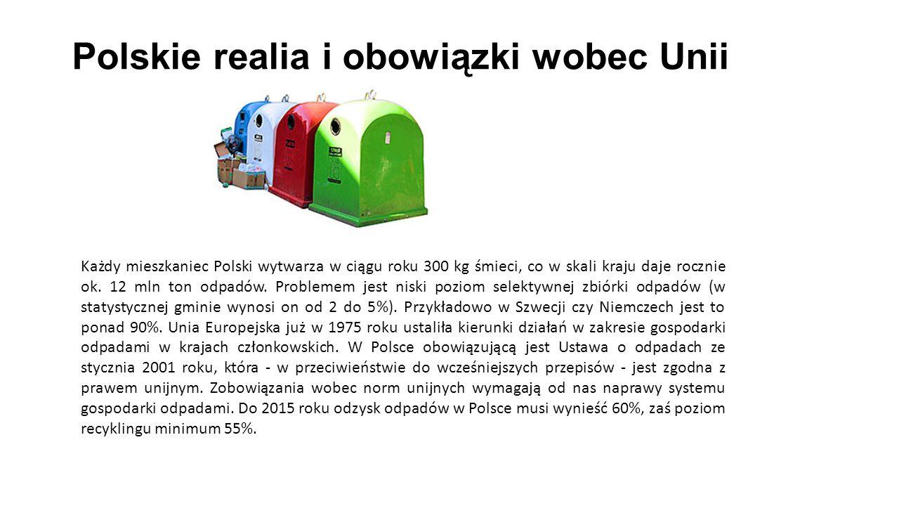 Polskie realia i obowiązki wobec Unii