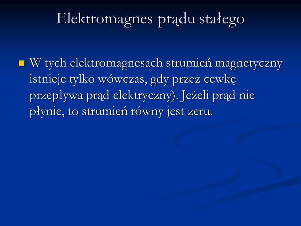 Elektromagnes prądu stałego