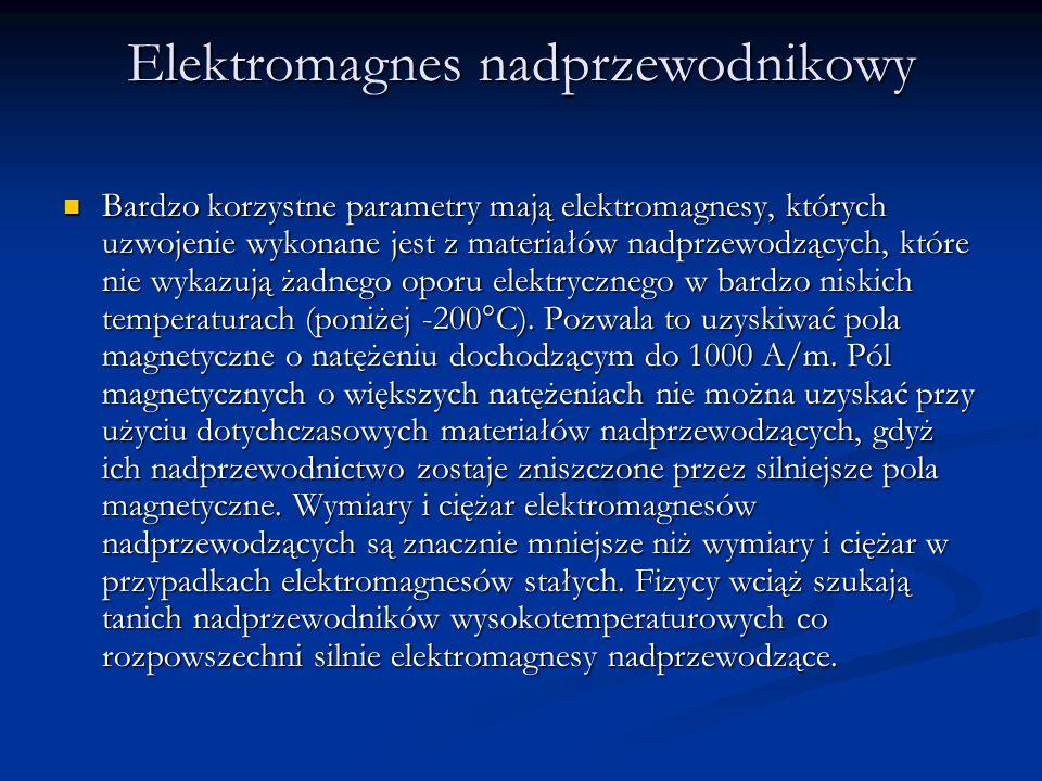 Elektromagnes nadprzewodnikowy