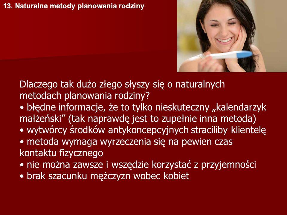 • wytwórcy środków antykoncepcyjnych straciliby klientelę