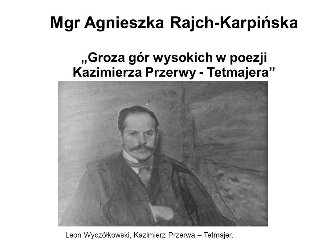 Mgr Agnieszka Rajch-Karpińska