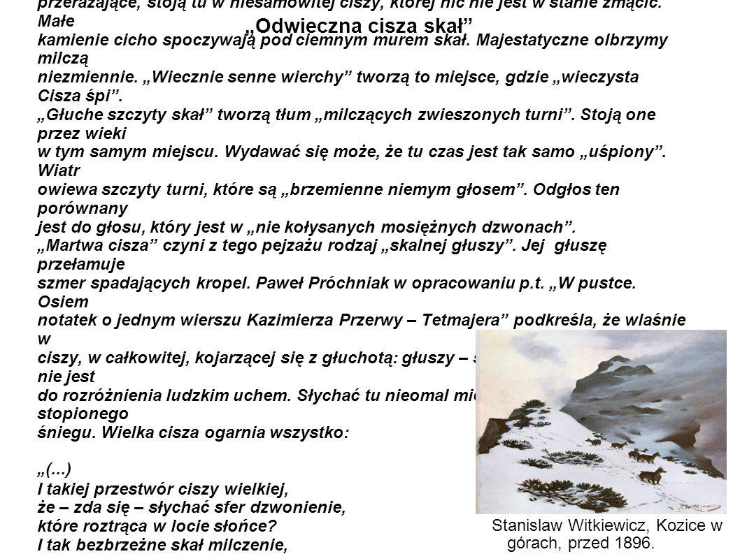 """""""Odwieczna cisza skał"""