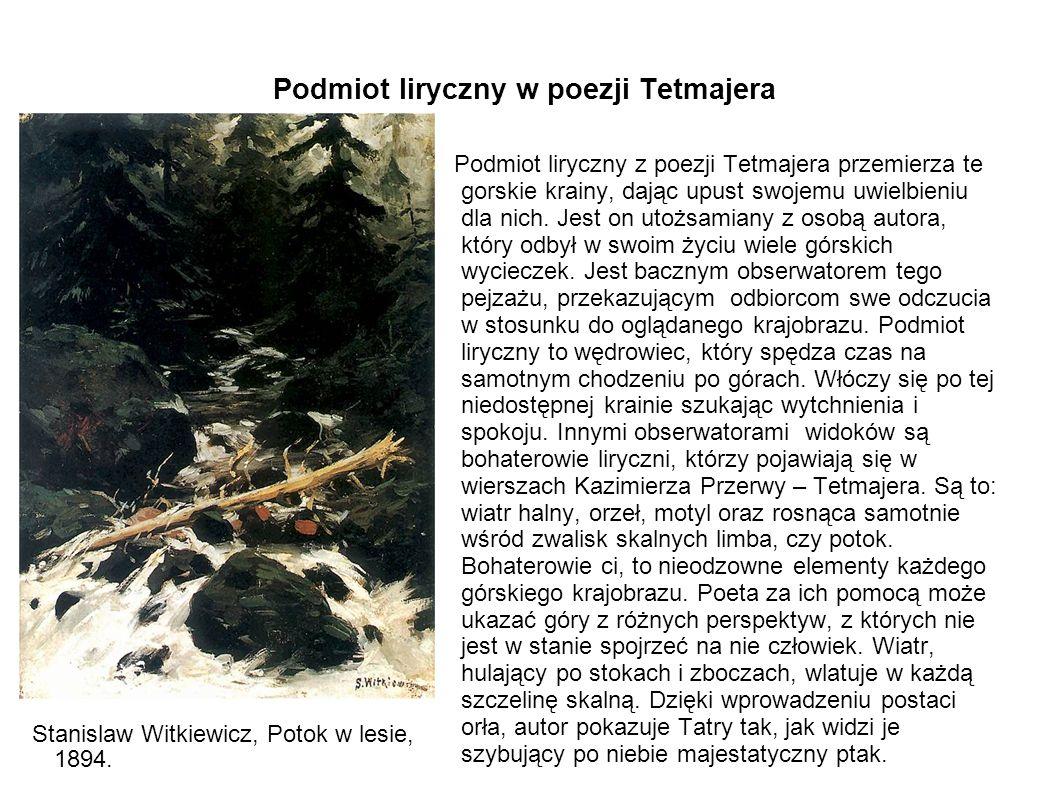 Podmiot liryczny w poezji Tetmajera