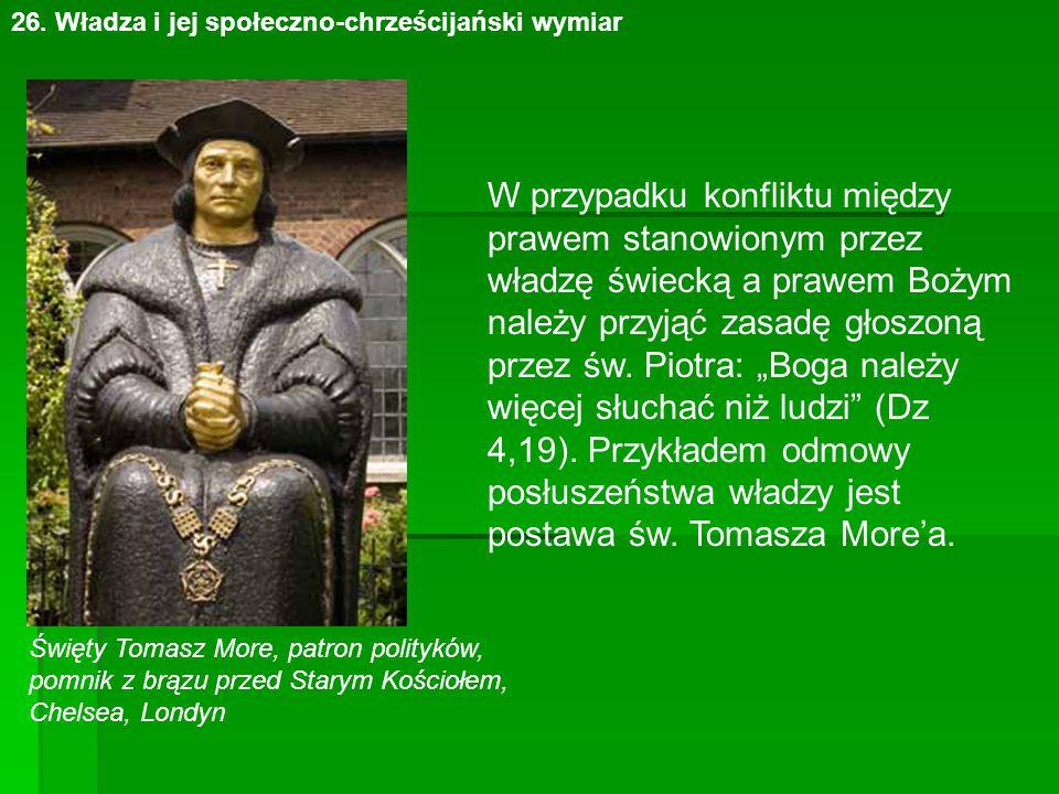 postawa św. Tomasza More'a.
