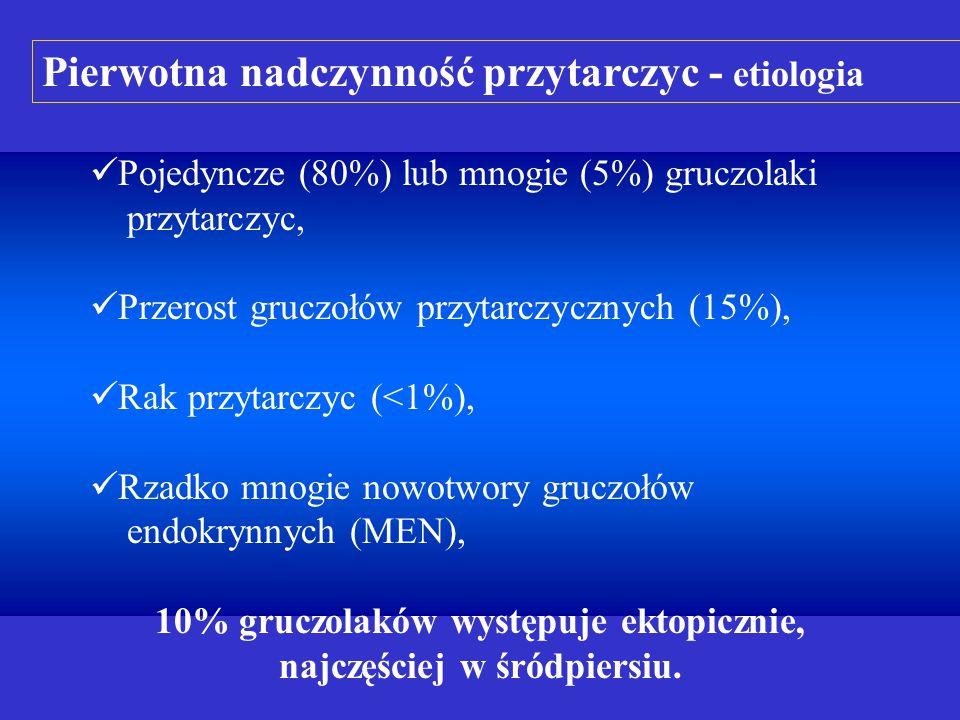 Pierwotna nadczynność przytarczyc - etiologia