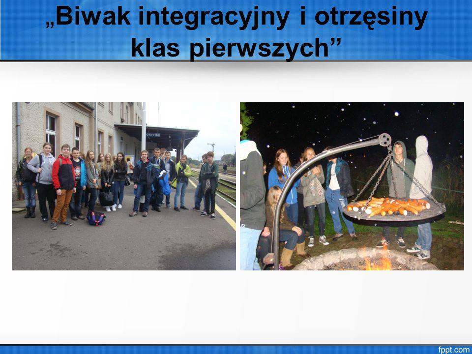 """""""Biwak integracyjny i otrzęsiny klas pierwszych"""
