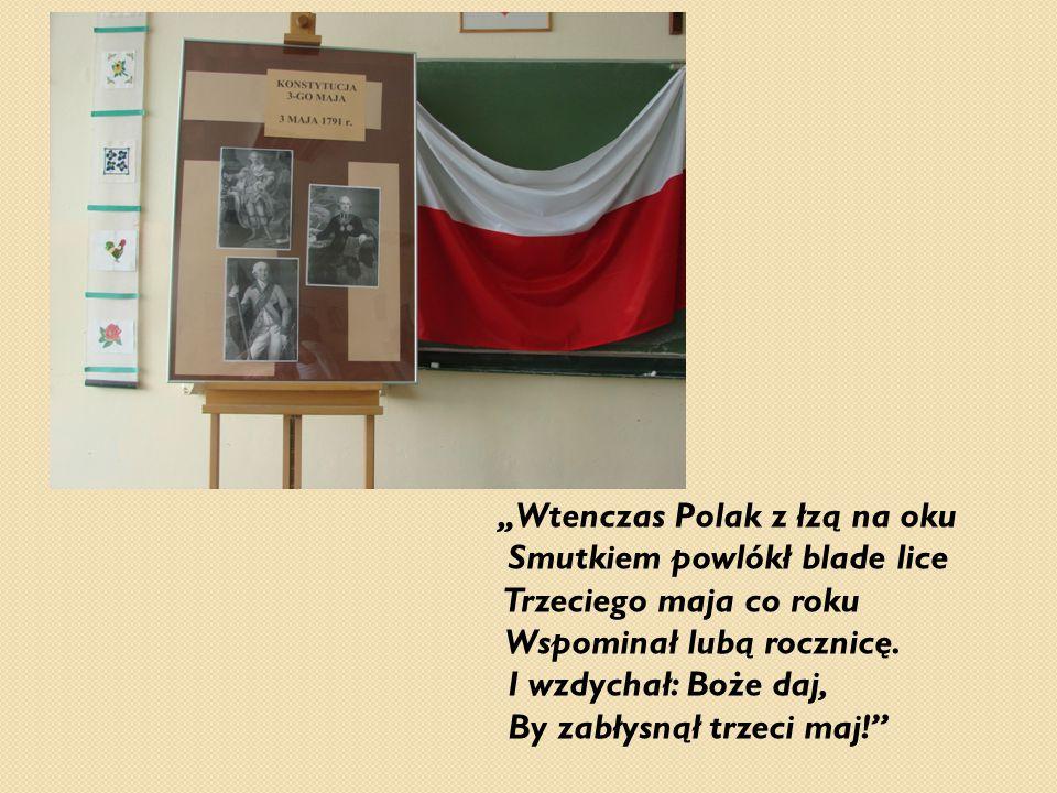 """""""Wtenczas Polak z łzą na oku"""