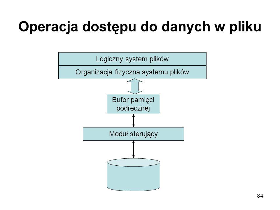Operacja dostępu do danych w pliku
