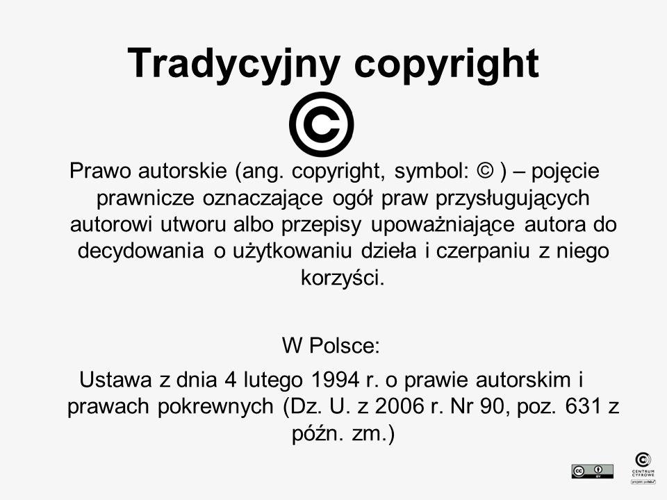Tradycyjny copyright