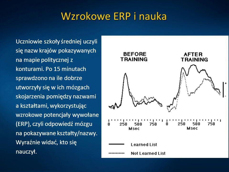Wzrokowe ERP i nauka