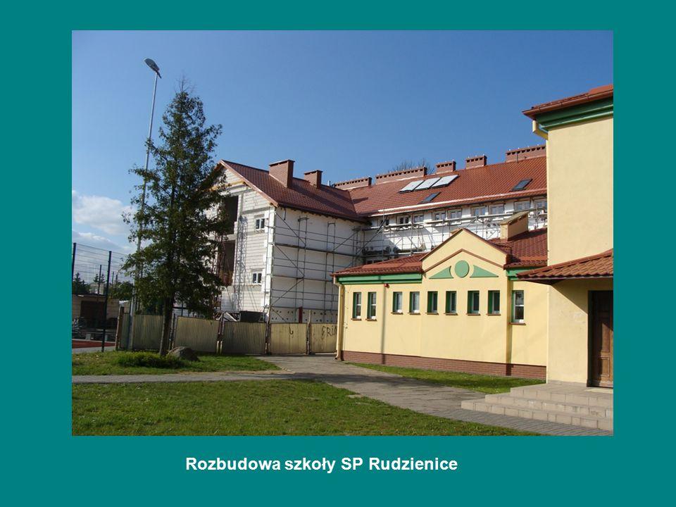 Rozbudowa szkoły SP Rudzienice