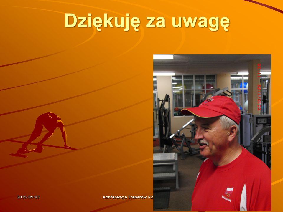 Konferencja Trenerów PZLA COS Spała