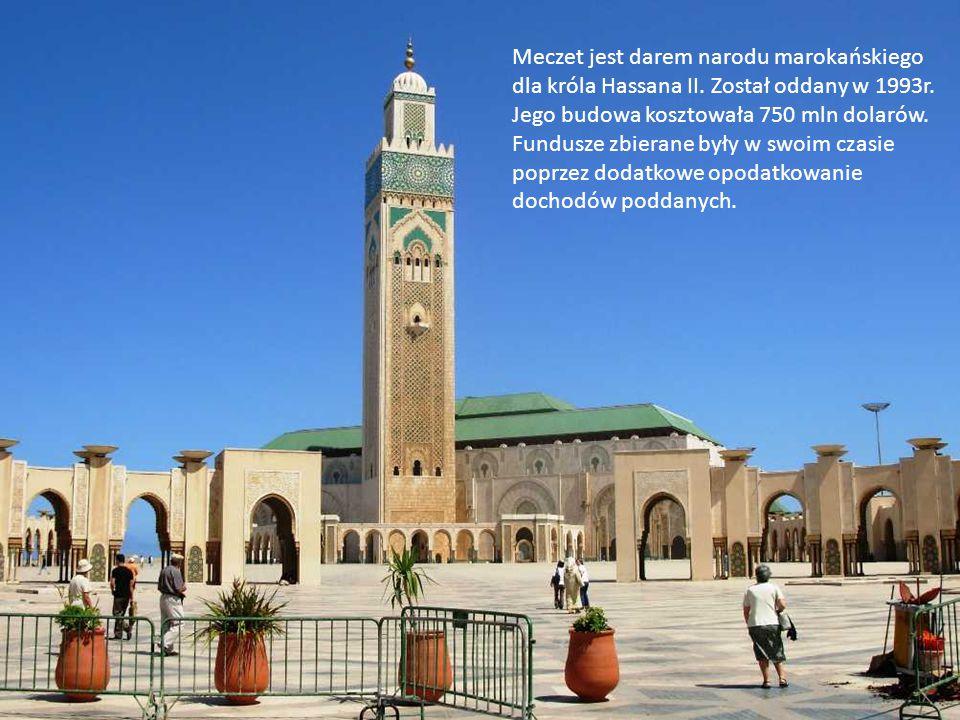 Meczet jest darem narodu marokańskiego