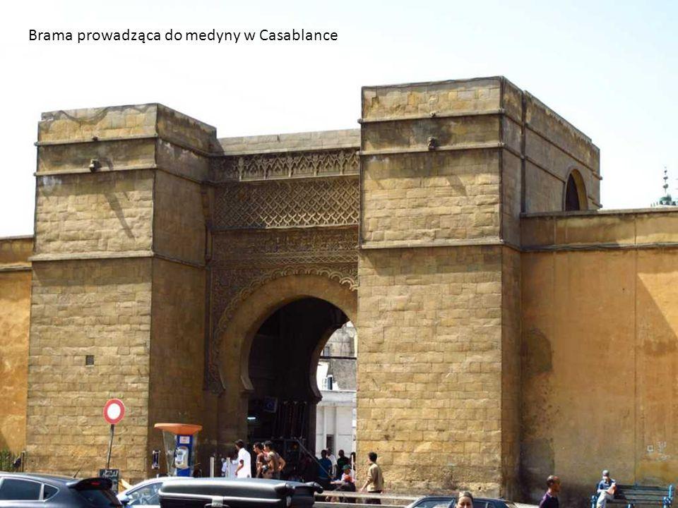 Brama prowadząca do medyny w Casablance