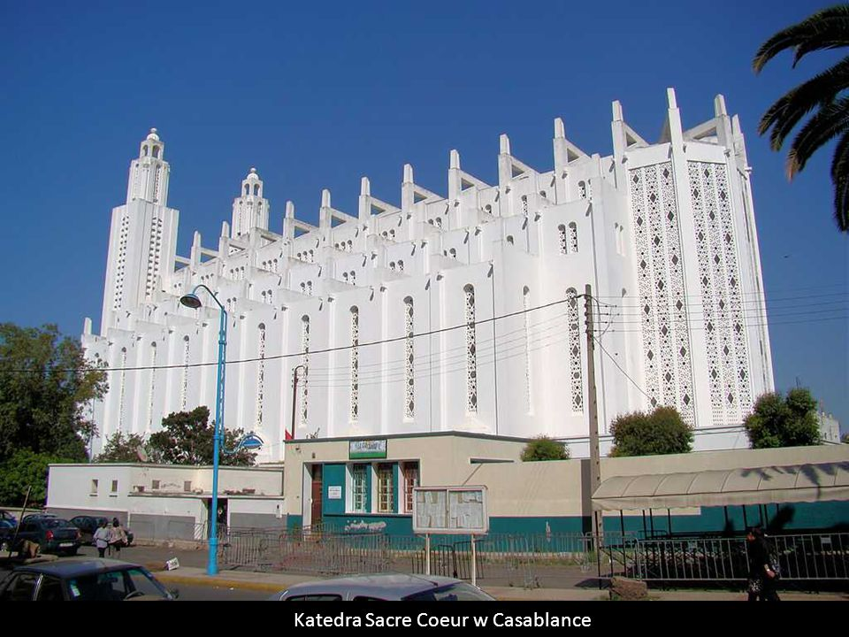 Katedra Sacre Coeur w Casablance
