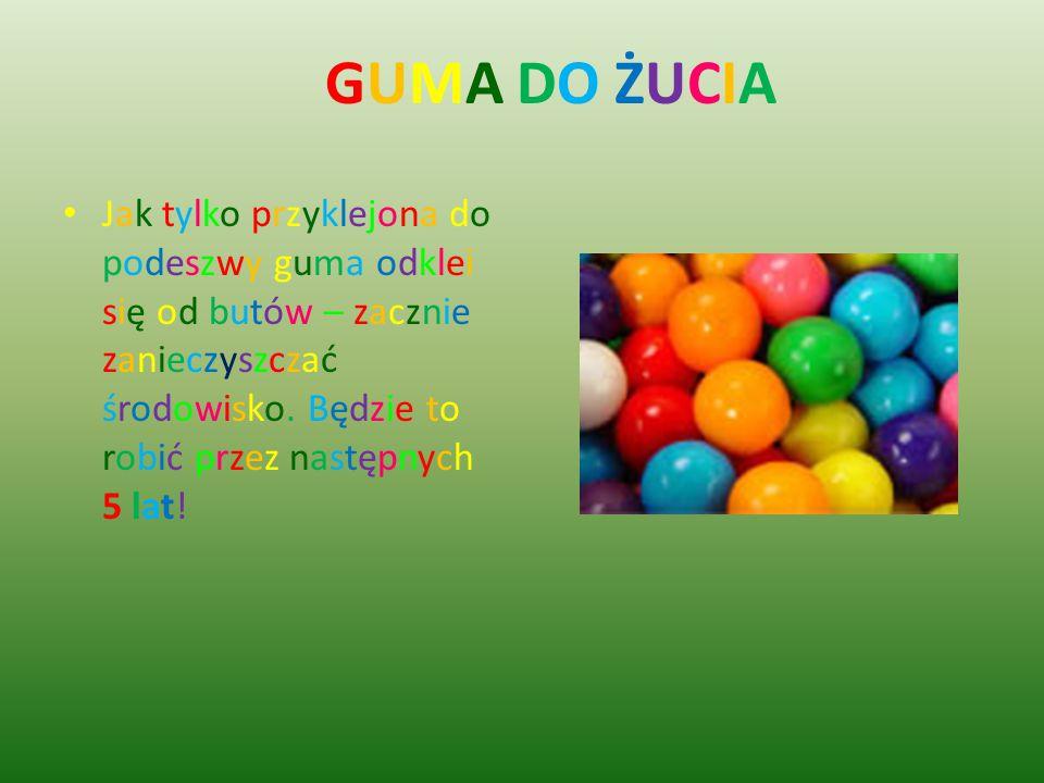 GUMA DO ŻUCIA