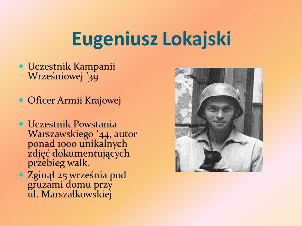 Eugeniusz Lokajski Uczestnik Kampanii Wrześniowej '39