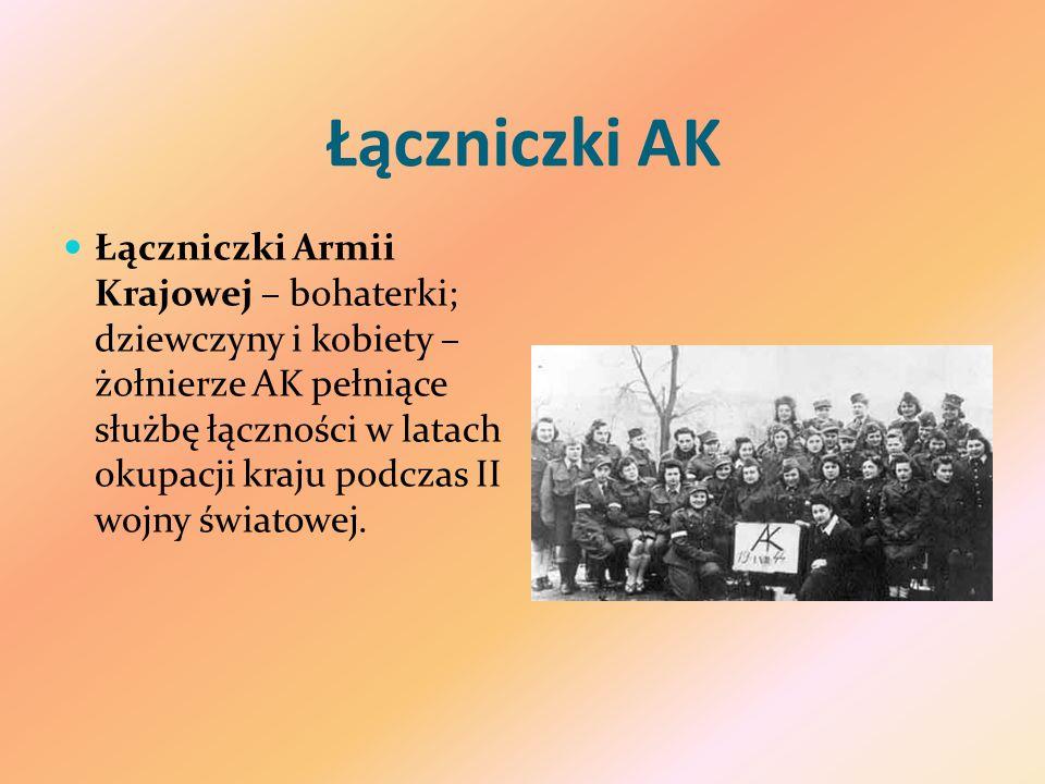 Łączniczki AK